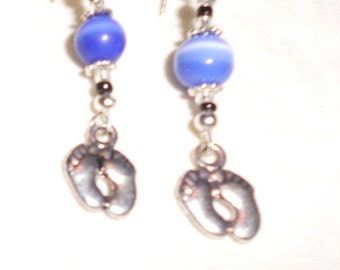 Bare Feet earrings