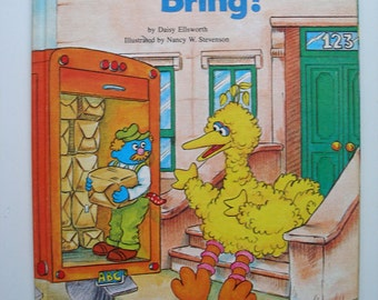 Sesame Street What Did You Bring? 1980