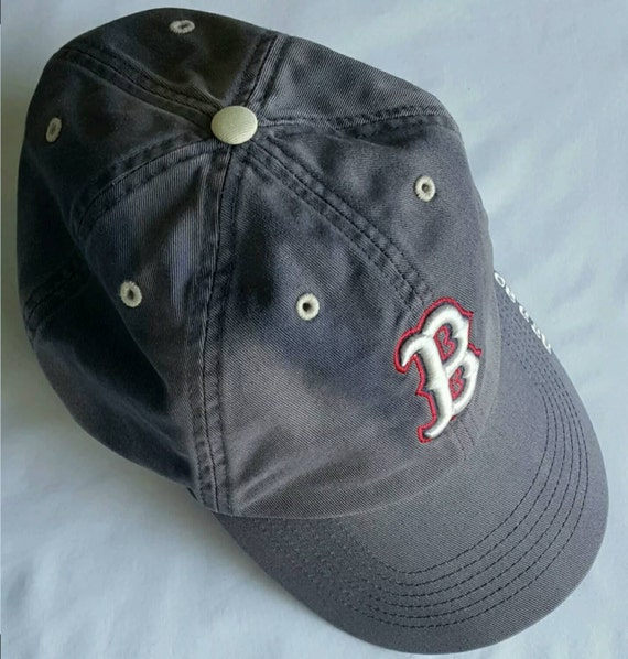 Vintage Baseball Hat Red Sox Hat Fitted Hat
