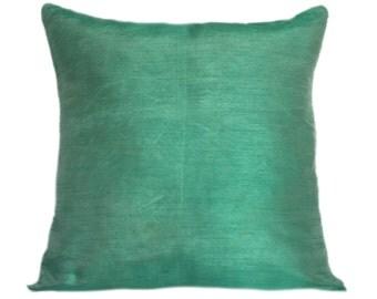 Solid Mint Green Pillow Plain Mint Green Pillow Mint Green Decorative Pillow Mint Green Accent Pillow Mint Green Pillow Cover