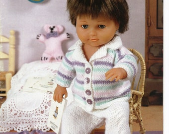 Knitting Pattern Boy Doll : Items similar to Vintage Dolls Clothes 10 items to knit ...