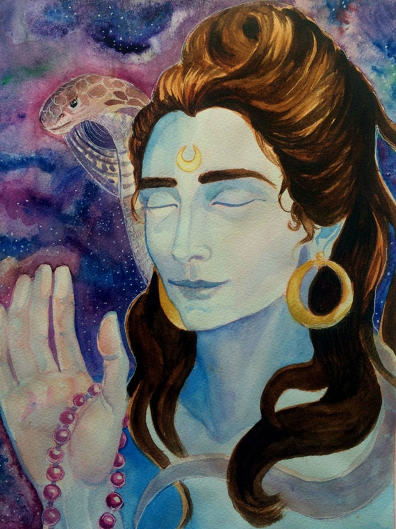 Lord Shiva Painting by Artist Deeksha Gupta - Gallerist