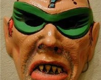 1960S DC Comics Batman's Enemy The Riddler Halloween Mask NM rare variation