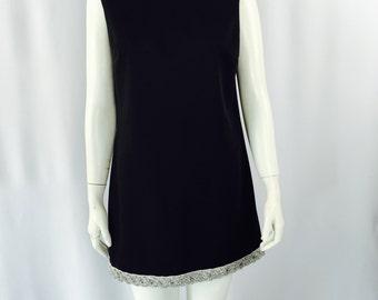 60's Mod Mini Dress Size Small Medium