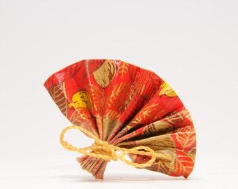 Spindle range Orange origami