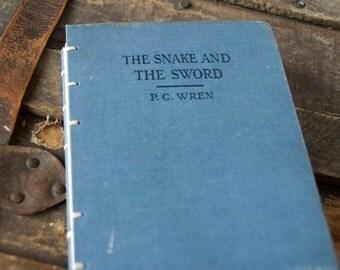 1926 SNAKE and SWORD Vintage Notebook