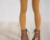 Mustard leggings  for BJD