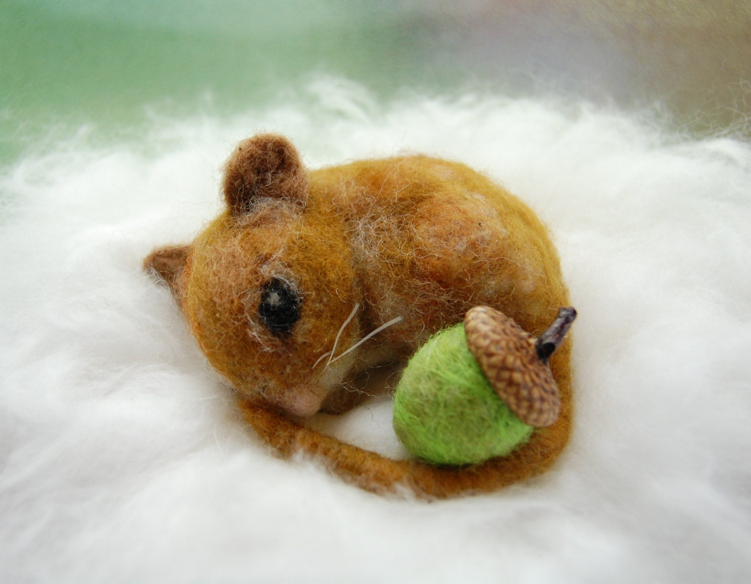 needle felted mouse waldorf animals needle felt mouse cute. Black Bedroom Furniture Sets. Home Design Ideas