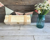Personalized Engraved Wine Box Wedding Gift Christmas Bridesmaid Groomsman mom dad fathers day mothers birthday son daughter