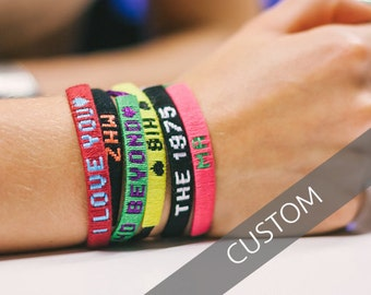 Customized Friendship Bracelet