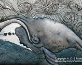 Bowhead Whale Fine Art Print