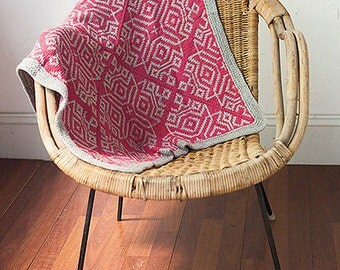 Baby blanket ("Cervelli") knitting pattern (PDF)