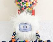Kawaii Monster Plush Fun Bendy Posable Furry Toy Buddy Called Gumballs