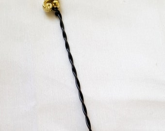 Gold Seahorse orifice hook