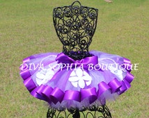 Princess Sofia the First Ribbon Tutu - Birthday Tutu - Halloween Tutu