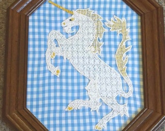 """Holbein Embroidery """"Unicorn"""""""