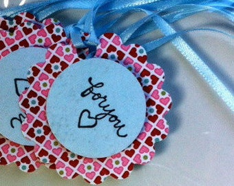 For You - handmade tags