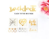 Bachelorette party tattoo | Bachelorette party favors | 15 | Bachelorette tattoo | Classy bachelorette | Bridal party gift | Hen party ideas