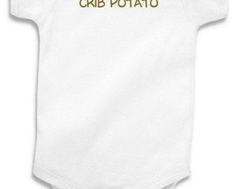 Crib Potato Baby Onesie