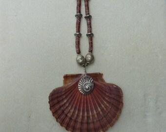 Shell Swirl Pendant