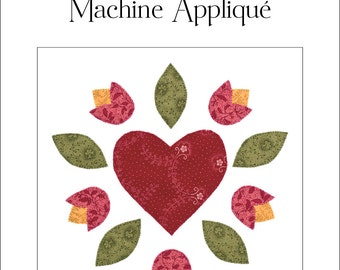 Illustrated Guide to Fusible Machine Appliqué, Appliqué Instructions