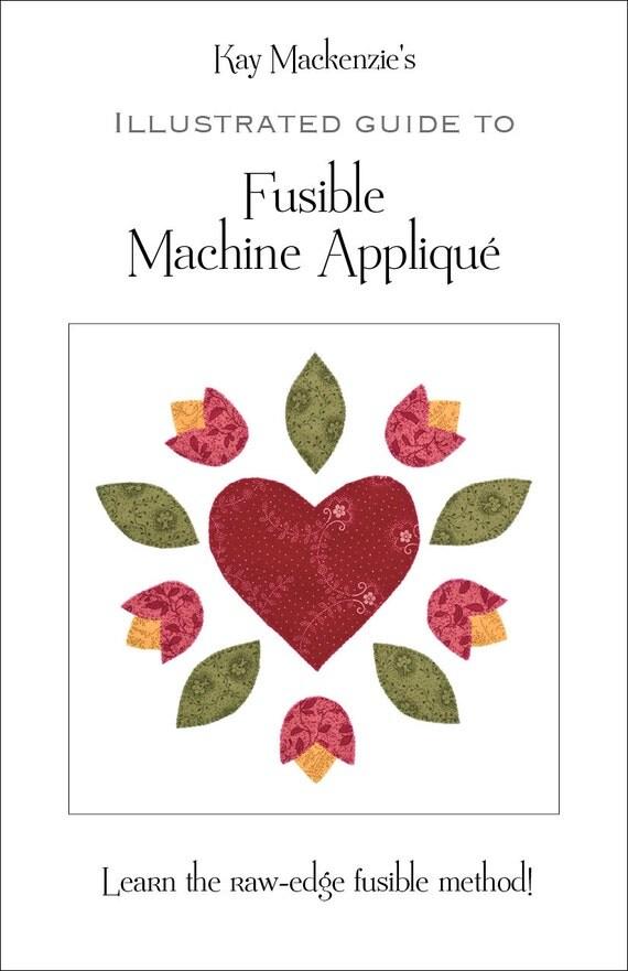 how to machine applique