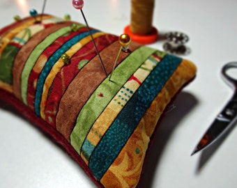 Pin Keep, Pincushion, Notion, Quilter, Seamstress, Sewing Gift, Sewing Accessory, Handmade