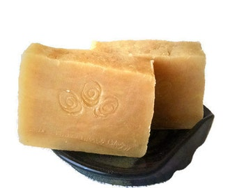 Patchouli & Sandalwood Soap - Handmade Soap - Hot Process Bar - Delicate by Nature