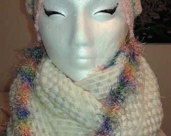 Rainbow R58 Slouchie and Cowl