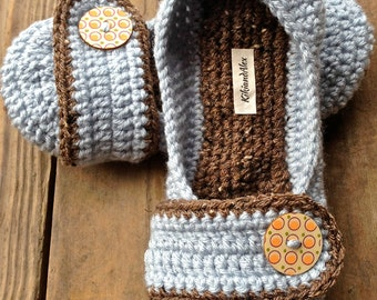 Non-slip Crochet Slippers