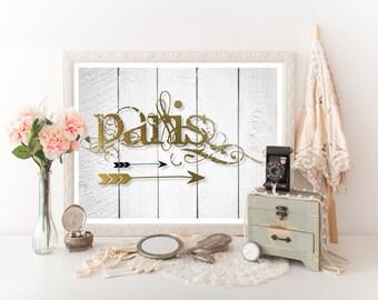 Paris Decor, Paris Travel Poster, Paris Print, Paris Art, Paris Download, Paris Poster, Paris Wall Art, Travel Decor, Paris Printable 0303