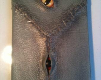 Creepy sketchbook grey a5