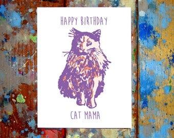 Happy Birthday Cat Mama Cat Daddy