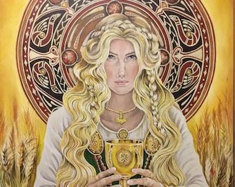 A4 Print Goddess Sif