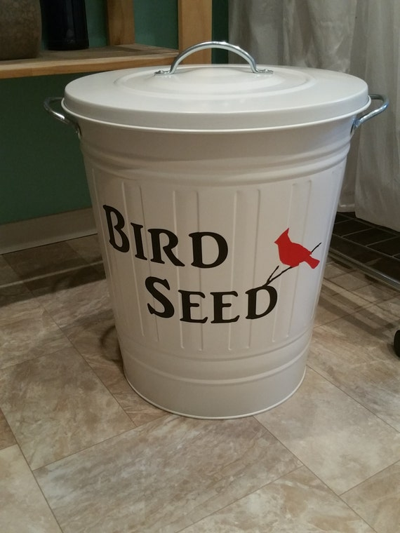 Items similar to bird food storage bird seed storage for Bird food holder