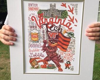Virginia Tech Print