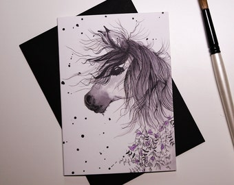 Wild Horse A6 Card