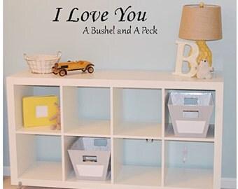 Nursery wall art, nursery decor, nursery art, nursery wall decor, nursery wall decal, nursery quote, baby quote, baby girl nursery, baby boy