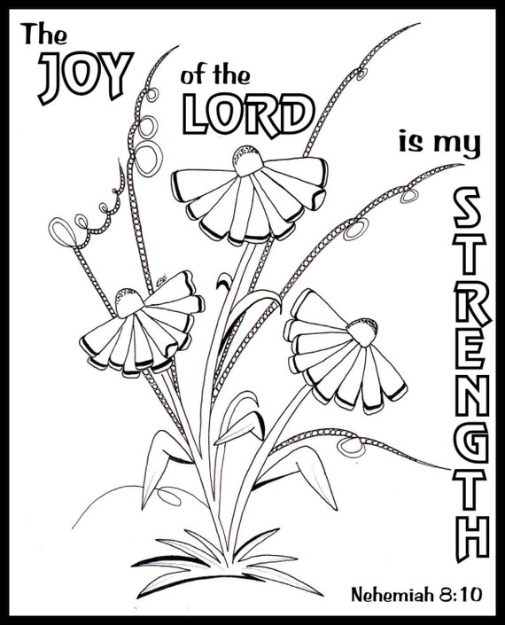 Bible Journaling Coloring Pages 5 Set By