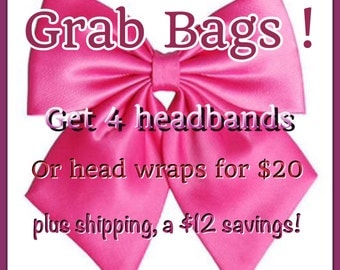 Grab Bags for 4 Headbands