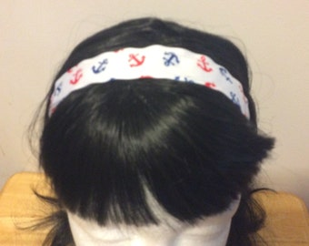 "Anchor ""Out of me Face"" Headband"