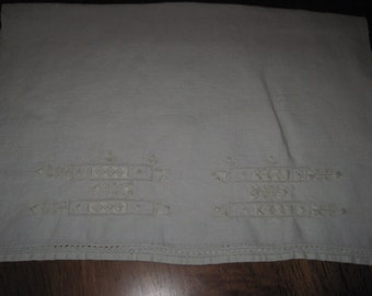 Vintage linen napkin