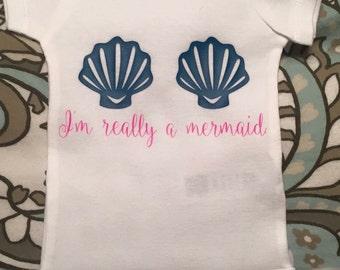 Im really a mermaid onesie