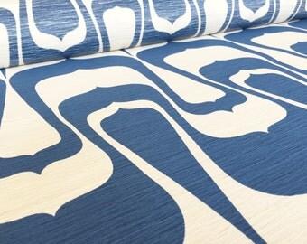 German Vintage Fabric awning fabric 50 cm x130cm Awaning