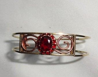 Garnet Bracelet Vintage