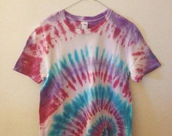 Purple Tie Dye Spiral