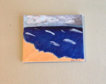 Distant Storm Painting