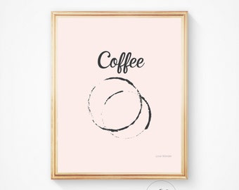 Coffee print, Coffee art, Kitchen decor, Coffee poster, Coffee, Kitchen wall art, But first coffee, Coffee wall art, Coffee printable,