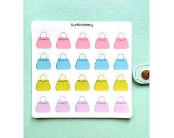 Cute Handbag / Purse Stickers