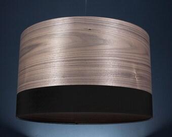 Lampshade 'American Nut Dips Black 50'